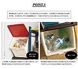 「スタックストー」 ゴミ箱 pelican garbee (ペリカン ガービー) (【2個セット+3種分別シール付】レッド) 画像