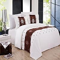Eleanor 8点california-king bed-in-a-bag 100-percent Brushed Microfiber byロイヤルホテル