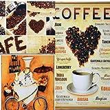 Shop XJ インテリア 壁掛け 看板 プレート レトロ アンティーク 風 アメリカン ブリキ 3枚 / 5枚セット カフェ バー ガレージ に (3枚 A)