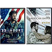 Only One Mission Secret Soldiers 13 Hours & American Sniper Double Feature 2-DVD Movie Bundle [並行輸入品]