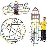 パイプパズル 知育玩具 100ピース パイプおもちゃ 子供の玩具 おもちゃ 誕生日 お祝い プレゼント 子供 ギフト 多…