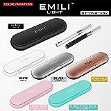 EMILI LIGHT エミリライト スターターキット 電子タバコ 正規日本語説明書 正規メーカ1ヶ月保証書 EMILI JAPAN 正規品 (BLACK ブラック)