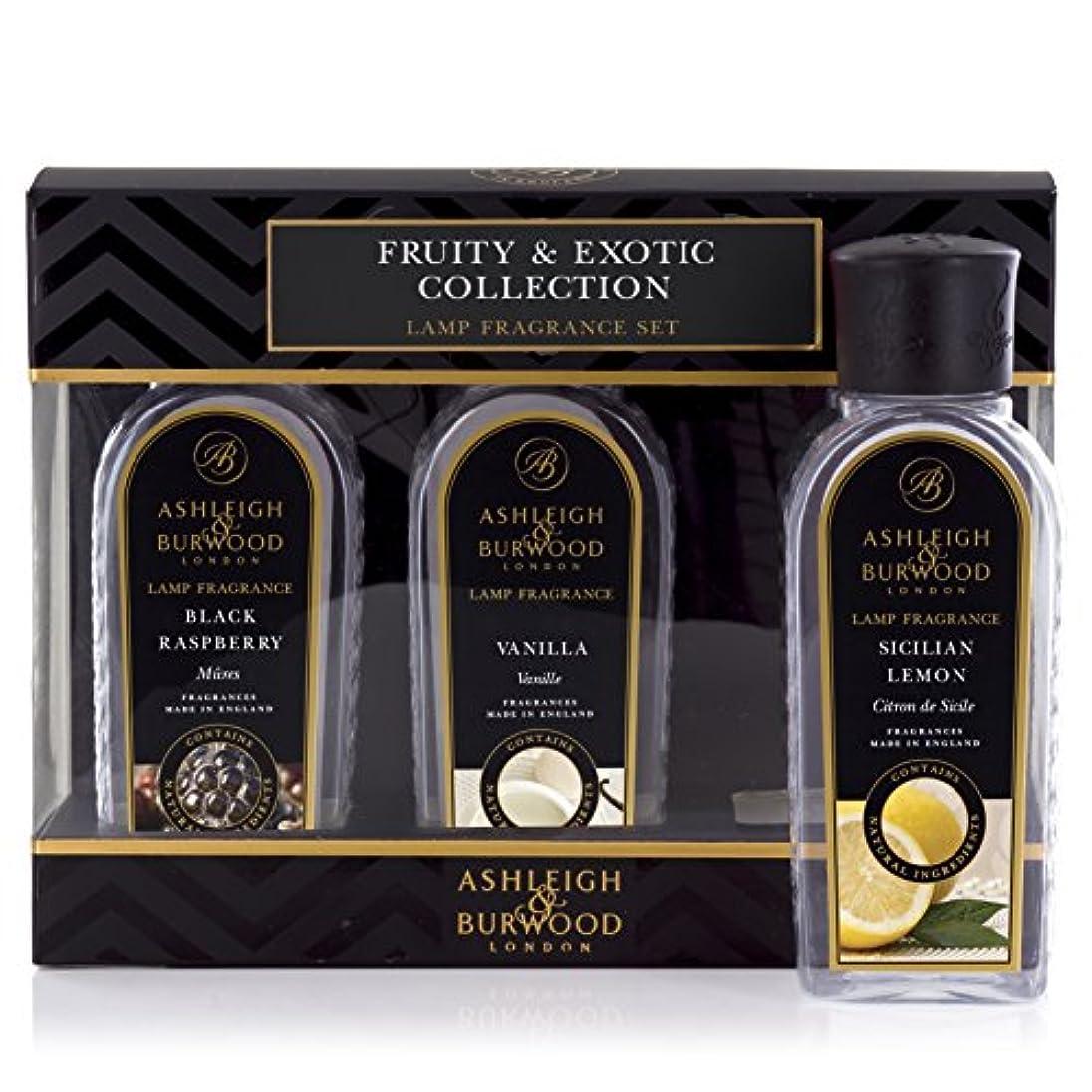 メッセージニックネーム限定Ashleigh&Burwood ランプフレグランス フルーティー&エキゾチック3本セット Lamp Fragrances Fruity&Exotic アシュレイ&バーウッド