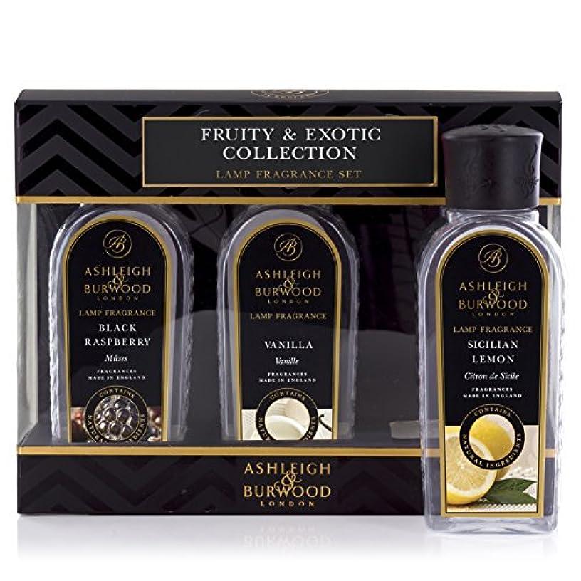 オーディションリングいまAshleigh&Burwood ランプフレグランス フルーティー&エキゾチック3本セット Lamp Fragrances Fruity&Exotic アシュレイ&バーウッド