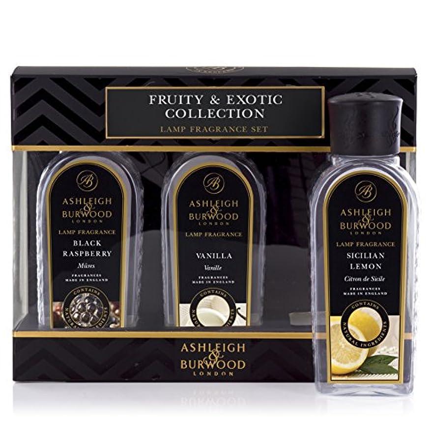 考えた遺産アルミニウムAshleigh&Burwood ランプフレグランス フルーティー&エキゾチック3本セット Lamp Fragrances Fruity&Exotic アシュレイ&バーウッド