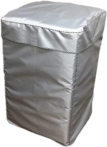 EBISSY 洗濯機カバー 屋外 防水 【 4面 すっぽり 改良版 1年保証 】 シルバーコーティング 紫外線 対策 (XLサイズ:98×64×62)