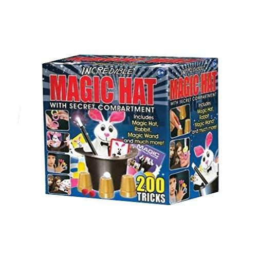Hanky Panky Incredible Magic Hat with 200 Magic Tricks [並行輸入品]
