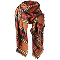 Spring fever Women's Tartan Fashion Scarf Lovely Best Gift Scarf Wrap Shawl