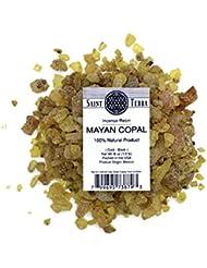 Saint Terra – マヤCopal樹脂Incense gold-black 8 oz ( 1 / 2lb ) – 100 % Natural
