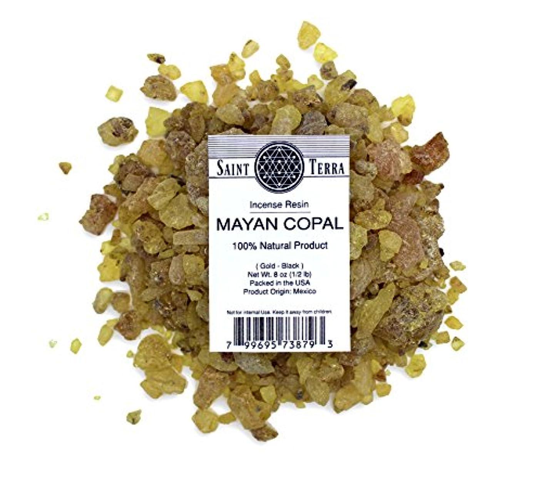 公使館医療過誤何よりもSaint Terra – マヤCopal樹脂Incense gold-black 8 oz ( 1 / 2lb ) – 100 % Natural