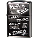 ZIPPO(ジッポー) ライター ブラック ロゴ 両面エッチング 2SIBK-ZLOGO