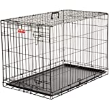 Fauna International Comfort Collapsible Wire Crate, Black