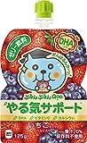 「コカ・コーラ ミニッツメイド クー ぷるんぷるんQoo やる気サポート パウチ 125g×30個」の画像