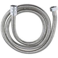 B Blesiya 高品質 ステンレス鋼 ハンドヘルド シャワー 浴槽 ホース 交換 超強力 全5種選べ   - 銀1 1.2m