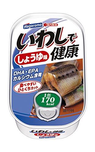 はごろも いわしで健康 しょうゆ味 100g (1582)×6個