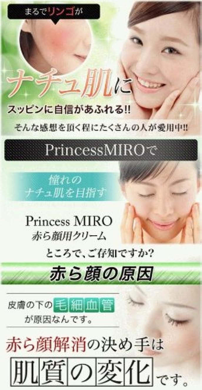レシピ表向き一部Princess MIRO 赤ら顔用クリーム