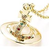 ヴィヴィアンウエストウッド Vivienne Westwood ネックレス メンズ レディース タイニーオーブペンダント ゴールド TINY ORB PENDANT GOLD