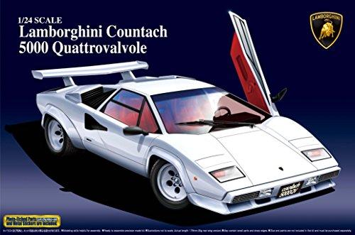 1/24 スーパーカー No.02 ランボルギーニ カウンタック 5000QV