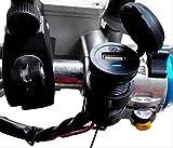 オートバイ 防水 USB 電源 ケーブル 12V 充電 アダプタ 携帯 スマホ タブレット 等 バイク (ブラック)
