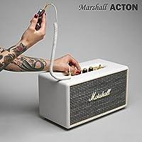 【国内正規保証付き】Marshall ACTON マーシャル「アクトン」Bluetooth搭載のコンパクトスピーカー:クリーム 【ギターアンプ、ヘッドフォン、iPhone、スマートフォン】