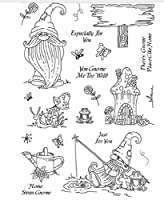 Fairy tale world Transparent Clear Stamps for DIY Scrapbooking/Card Making Fun Decoration Supplies ST0211
