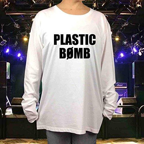 BOOWY ボウイ PLASTIC BOMB 長袖 Tシャツ...