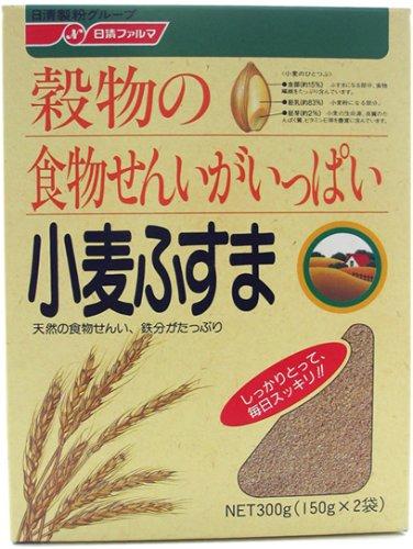 日清ファルマ 小麦ふすま150gx2袋