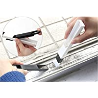 隙間クリーニングブラシ 掃除ブラシ 網戸 隙間 鍵盤などに適用 クリーニングブラシ ブラシ&ちりとりセット(デザインA)