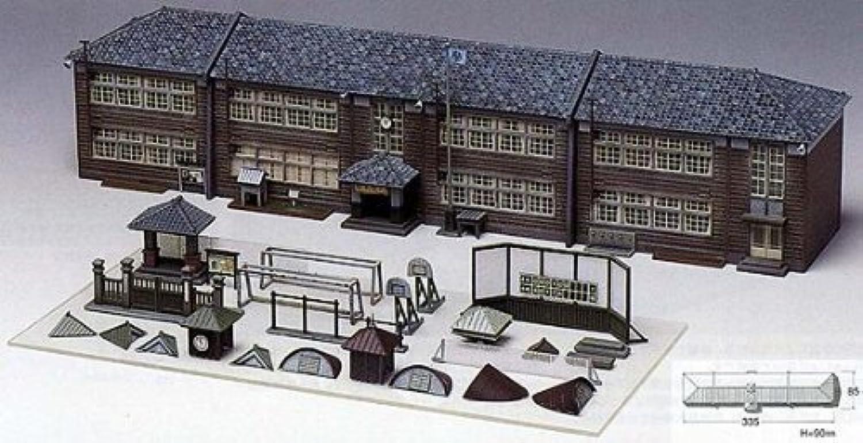 Nゲージ 48-5 木造校舎の学校 (未塗装キット)