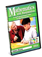 ETA hand2mind スタッフ開発ビデオシリーズ:Marilyn Burnsのマニキュア付き数学、パターンブロック DVD