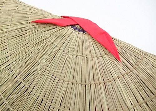 おけさ笠 編み笠(阿波踊り、佐渡おけさに使用する笠)民踊