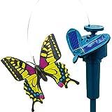 まるで生きているかのような蝶々の動きにビックリ!ソーラーモーションバタフライ【色選択不可】