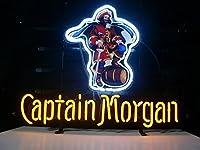 Desungブランド新しいCaptain Morgan Neon Sign (各種サイズ)ビールバーパブMan Caveビジネスガラスネオンランプライトdb250 20 Inches