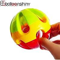balleenshiny Baby Rattleボール赤ちゃんおもちゃFun Jingle Ball教育インテリジェンス開発トレーニングGrasping Ability赤ちゃんおもちゃ