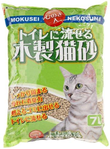 『トイレに流せる木製猫砂 7L』のトップ画像