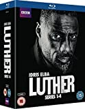 Luther - Complete Series 1-4 [Blu-ray] [Import anglais]