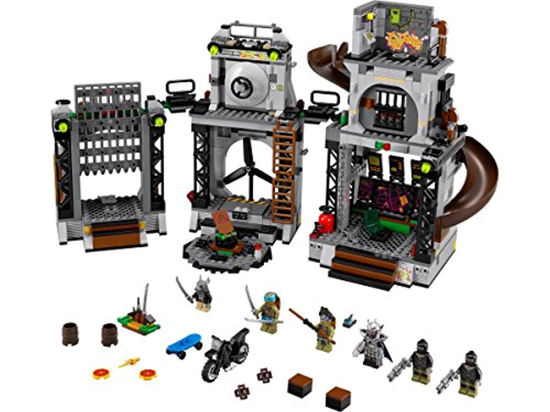 レゴ (LEGO) ミュータント タートルズ タートルズの隠れ家への侵入 79117