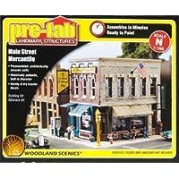 Main Street Mercantile 2-Story Pre-Fab Building N Woodland Scenics by #N/A [並行輸入品]