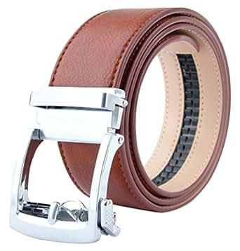 ( ウェニダ)WEINIDA ベルト メンズ 本革 ビジネス 紳士 レザー オートロック ロング サイズ調整可能 紳士 カジュアル 男性用 LOWD123-01