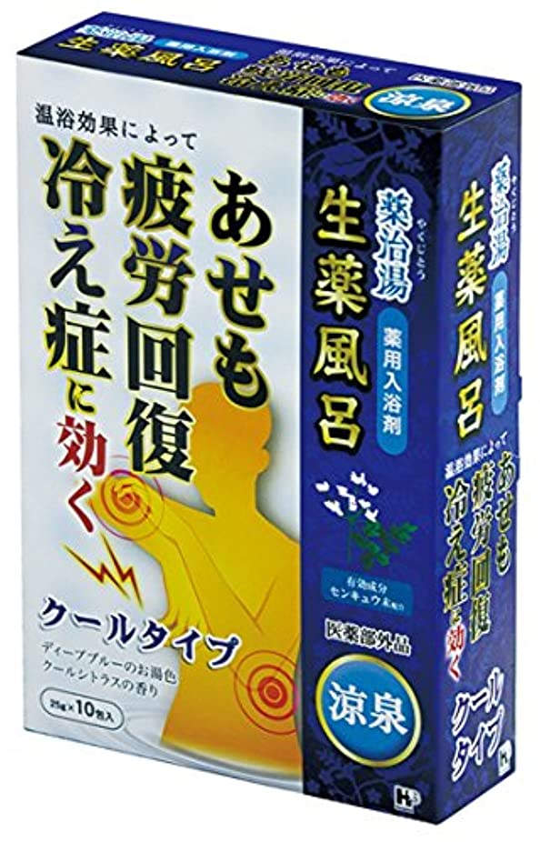 インキュバス拒絶する引数ヘルス 薬治湯 薬用入浴剤 分包 涼泉 25g×10包 [医薬部外品]