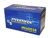 新品バッテリー PRIMAX MF60038 100AH 外車 欧州車用 アルファロメオ アウディ BMW フィアット ベンツ オペル プジョー サーブ フォルクスワーゲン ボルボ