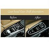新製品!車のスタイリングトリム車のギアヘッドギアシフトリアトランクスイッチボタン装飾カバー用ボルボxc90 2016-2017年-XC90
