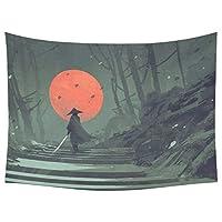 タペストリー Autumn Season Home Decor Tapestries Wall Art,Maple Tree Leaves Pathway Tapestry Wall Hanging Art Sets