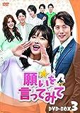 願いを言ってみて DVD-BOX3[DVD]