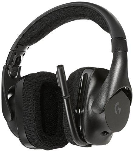 Logicool ロジクール PC PS4 ゲーミング ヘッドセット ワイヤレス G533 DTS® 7.1 サラウンド