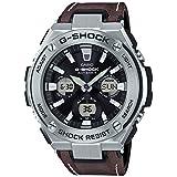 [カシオ] 腕時計 ジーショック G-STEEL 電波ソーラー GST-W130L-1AJF ブラウン