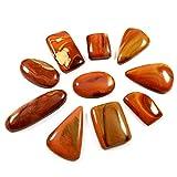 Gems & Jewels 212cts 100%天然宝石Polygram Mix Looseカボッション10個卸売ロット