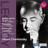 シューラ・チェルカスキー - ラフマニノフ:パガニーニの主題による狂詩曲Op.43/プロコフィエフ:ピアノ・ソナタ第7番変ロ長調 Op.83 他