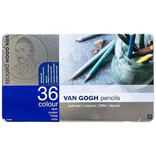 ヴァンゴッホ 色鉛筆 36色 T9773-0036