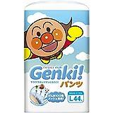 紙おむつ ネピアげんき GENKI パンツ Lサイズ 44枚入X3P